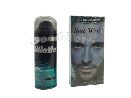 Набор для мужчин Sea Wolf ( одеколон 100 мл., дезодорант )