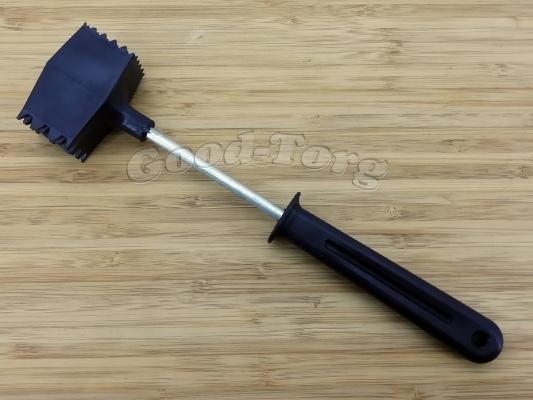 Молоток черный резиновый 24 см.
