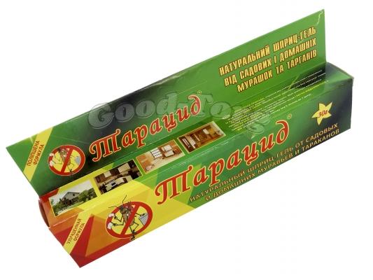Гель Тарацид - Гель для уничтожения тараканов, муравьев, 30 гр