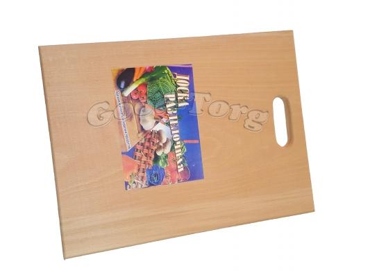 Доска деревянная для нарезки вид N4 22 см ×34см