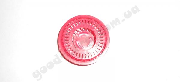 Сетка на мойку круглая пластмассовая маленькая d 6 см. 1 уп. = 10 шт.