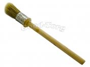Кисть круглая, №30, 19.5*2 см, деревянная ручка 1 пач. = 5 шт.