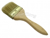 Кисть плоская, утолщенная, №70, 19,5*7,5*1.5 см., деревянная ручка 1 пач. = 5 шт.