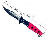Нож выкидной рисунок
