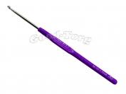 Крючок с пластмассовой ручкой N00 2.5 мм 1 уп. = 10 шт.