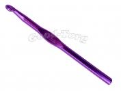 Крючок для вязания алюминиевый 8.0 мм 1 уп. = 5 шт.