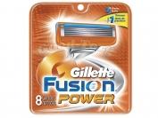 Картриджи Gillette Fusion  POWER, оригинал, 1 уп = 8 шт.
