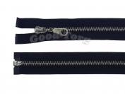 Молния Металл N5, разъемная, черная, никель 60 см. 1 уп. = 10 шт.