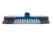 Щетка для уборки пола Primus с прорезиненными краями, пластик, цвета в ассортименте + кий