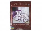 Постельное белье VILUTA N3, полуторный (Пододеяльник 1 шт. 215х145 см. Простыня 1 шт. 220х150 см. Наволочка 2 шт. 70х70 см.) Ув.клиенты, так как модели часто меняются, точный вид рисунков можем скидывать на viber.