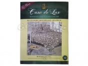 Постельное белье Casa de Lux (зеленая упаковка)  N8, полуторный (Пододеяльник 1 шт. 220х145 см. Простыня 1 шт. 220х145 см. Наволочка 2 шт. 70х70 см.)