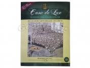 Постельное белье Casa de Lux (зеленая упаковка) N8, двойной (Пододеяльник 1 шт. 215х175 см. Простыня 1 шт. 215х180 см. Наволочка 2 шт. 70х70 см.)