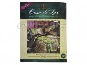 Постельное белье Casa de Lux (зеленая упаковка) N2, двойной (Пододеяльник 1 шт. 215х175 см. Простыня 1 шт. 215х180 см. Наволочка 2 шт. 70х70 см.)