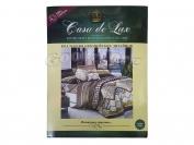 Постельное белье Casa de Lux (зеленая упаковка) N13, семейный (Пододеяльник 2 шт. 215х145 см. Простыня 1 шт. 220х200 см. Наволочка 2 шт. 70х70 см.)