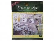 Постельное белье Casa de Lux (зеленая упаковка) N16, семейный (Пододеяльник 2 шт. 215х145 см. Простыня 1 шт. 220х200 см. Наволочка 2 шт. 70х70 см.)