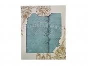 Набор полотенце Венгрия берюзовый цвет. 2 шт. Баня 70×1.4 м + лицо 50×90 м