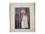Набор для сауны женский арт.13 (полотенце+тапочки+чалма на голову) (Турция)