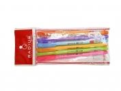 Набор ручкек Radius Mix 6 штук,цвет чернил синий