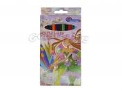 Карандаши J.Otten 12 цветов рисунки для девочек