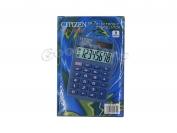 Калькулятор карманный Citizen 100/110, 8 разрядов, резиновые кнопки
