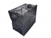Сумки плотные черные N3 1 уп. = 3 шт. 45х50х27 см.