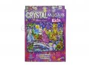 Мозаика кристаллами