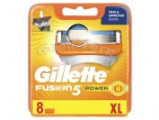 Картриджи Gillette Fusion Power5   XL original   8 шт.