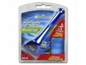 Станок для бритья Wilkinson protector 3 станок + 5 кассет