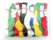 Шнур бельевой цветной из полимерных нитей Ф4 1 уп. = 10 шт.
