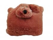 Подушка игрушка 60 х 60 черный нос (цвета в ассортименте)
