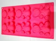 Силикон Мишка из 6 шт. 31 × 18 см.