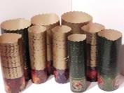 Формы для пасок. Пергамент коричневый 130 мм. 1 уп. = 50 шт.