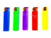 Зажигалки пьезо резиновые - разноцветные