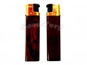 Зажигалка турбо деревянная ручка арт. 506-28