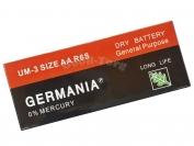 Батарейка GERMANIA, AA R6P, палец, 60 шт.