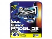 Картриджи Gillette Fusion PROGLIDE, оригинал, 1 уп = 8 шт. (Китай-заводской)