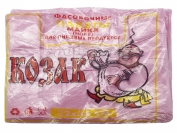 Пакет майка, Козак, розовый, для пищевых продуктов, 220*360 мм. 1 уп. = 100 шт.