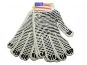 Перчатки двухсторонние ХБ американка 12 пар (продажа упаковкой)